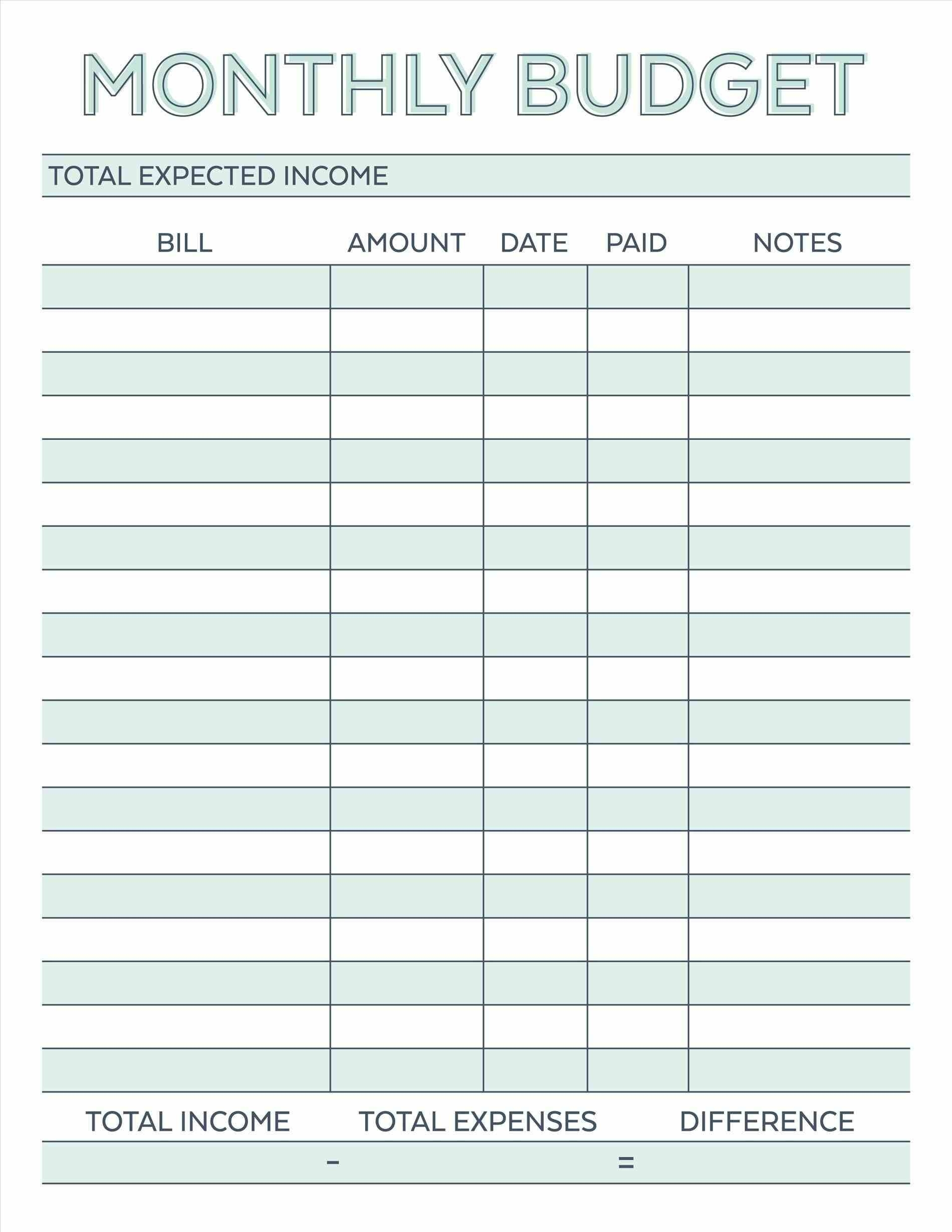002 Template Ideas Bill Payment Schedule 20Schedule