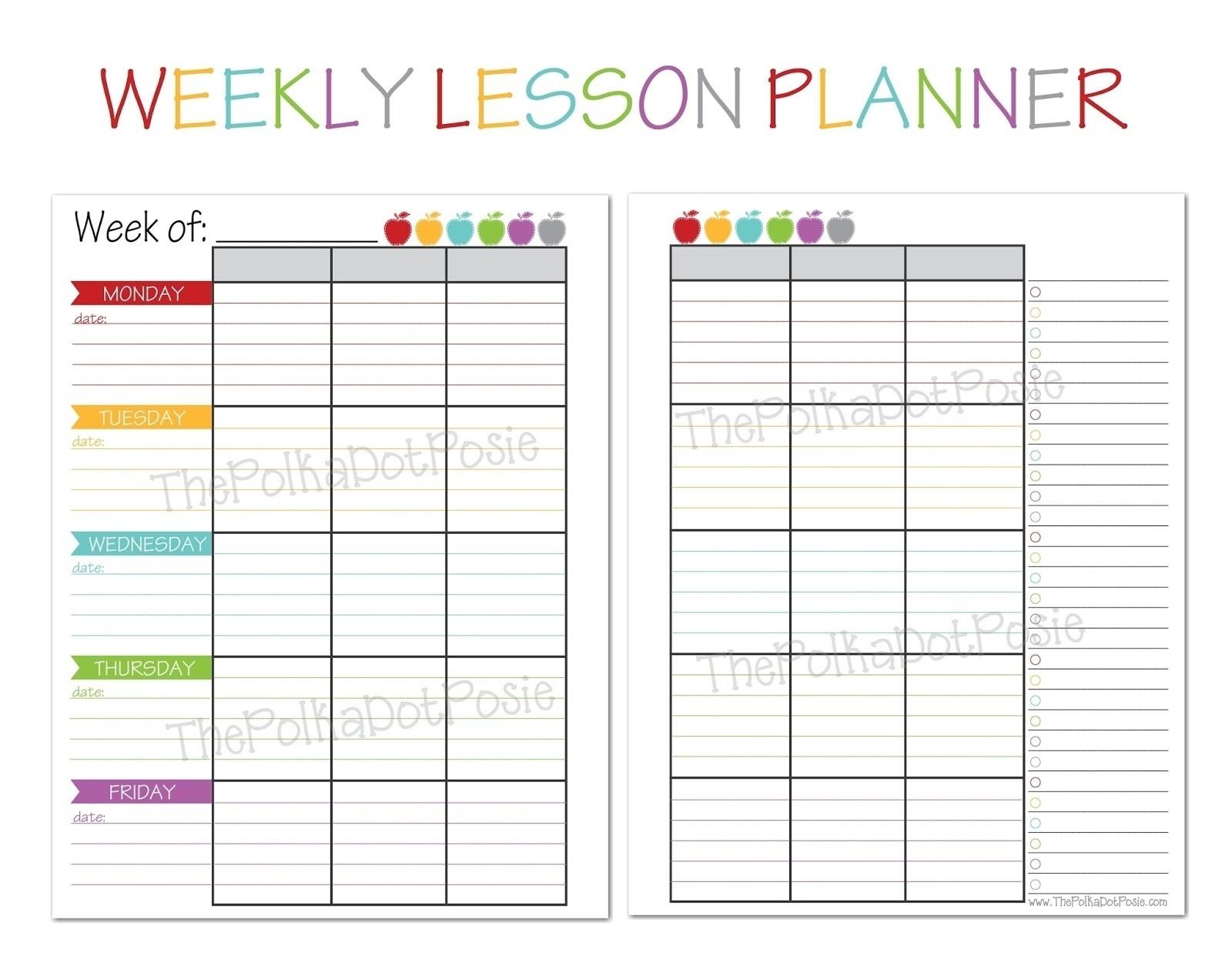 003 Unit Plan Calendar Template Templates Free Printable