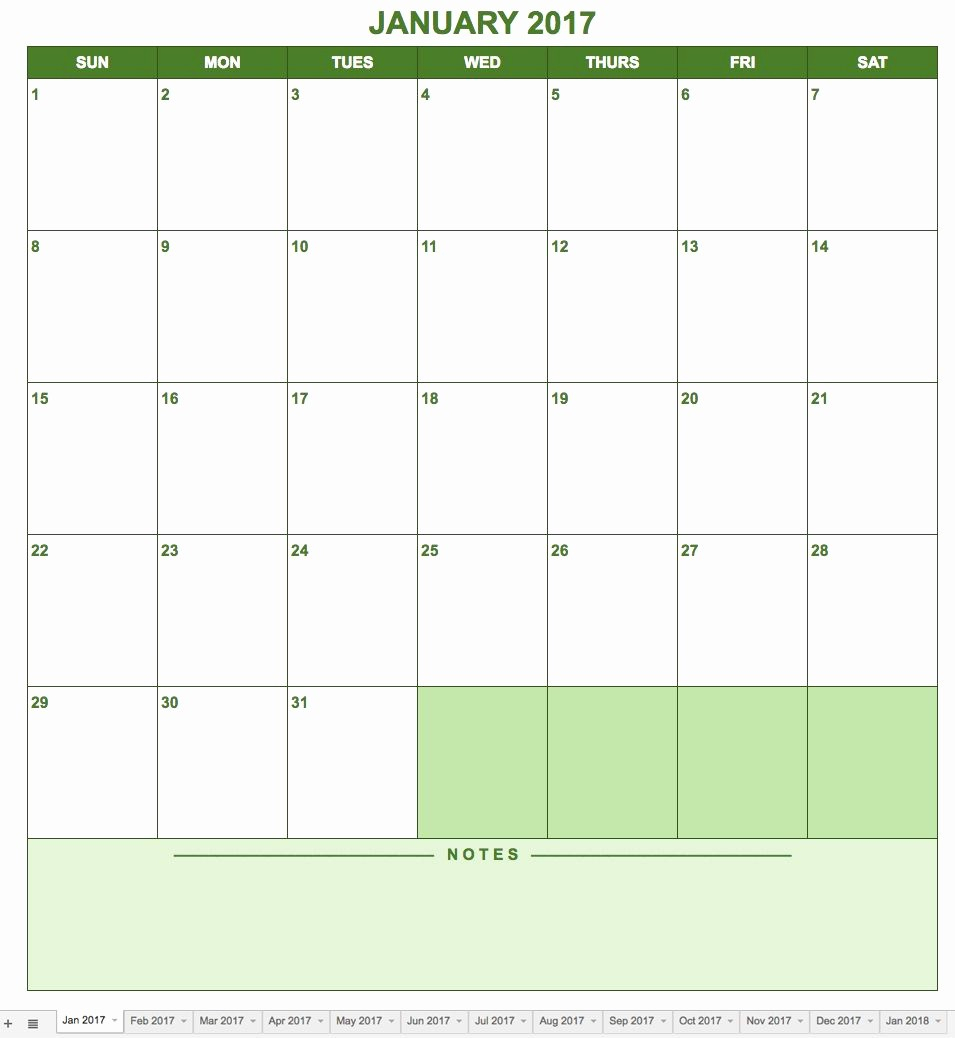 006 Google Sheets Calendar Templates Template Awesome Free