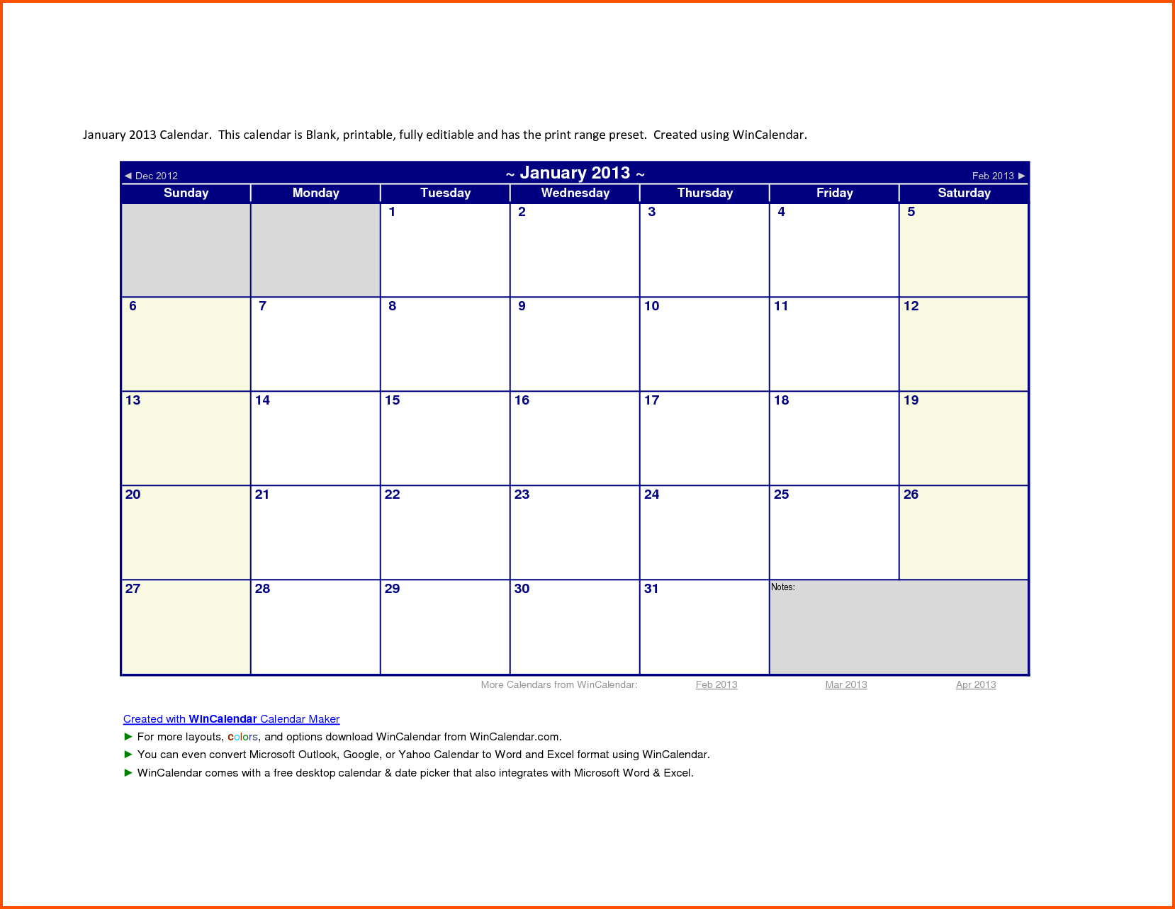 010 Template Ideas Microsoft Office Calendar Monthly Word