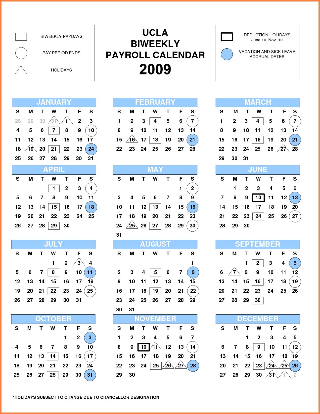 019 Template Ideas Biweekly Pay Schedule Fresh Payroll