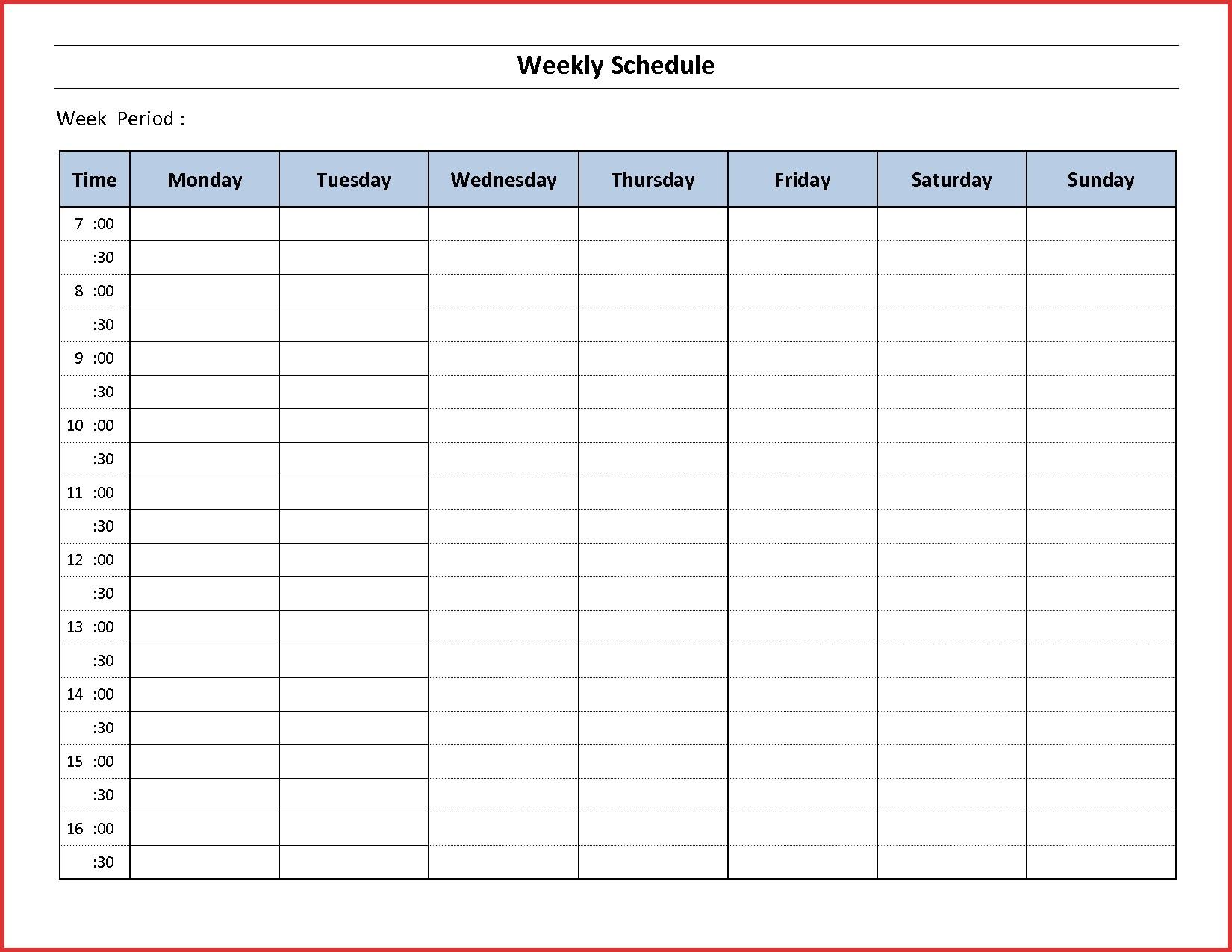 021 Hour Shift Schedule Template New Excel Job Latter