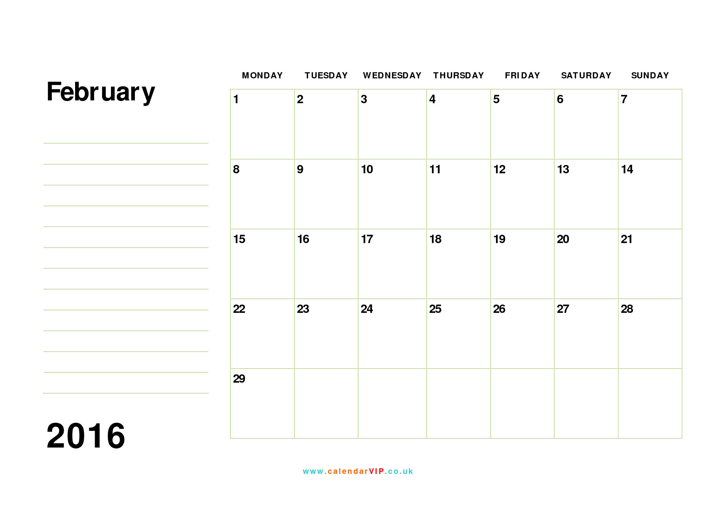 023 Free Calendar Templates Template Ideas Monthly