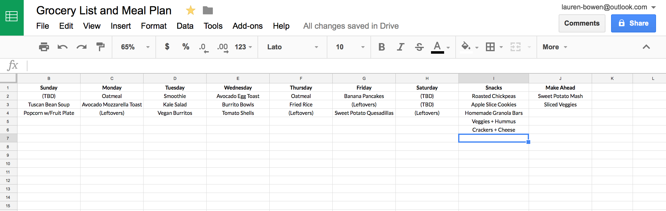 040 Meal Plan Template Download Google Drive Archaicawful