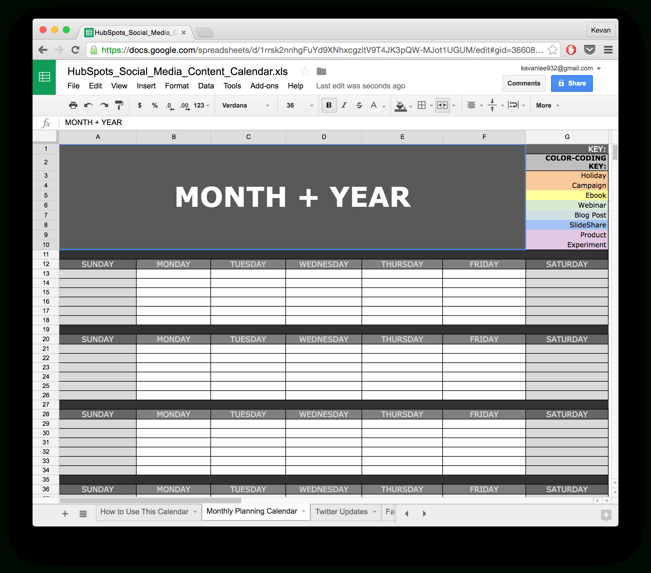 10 Ready-To-Go Marketing Spreadsheets To Boost Your