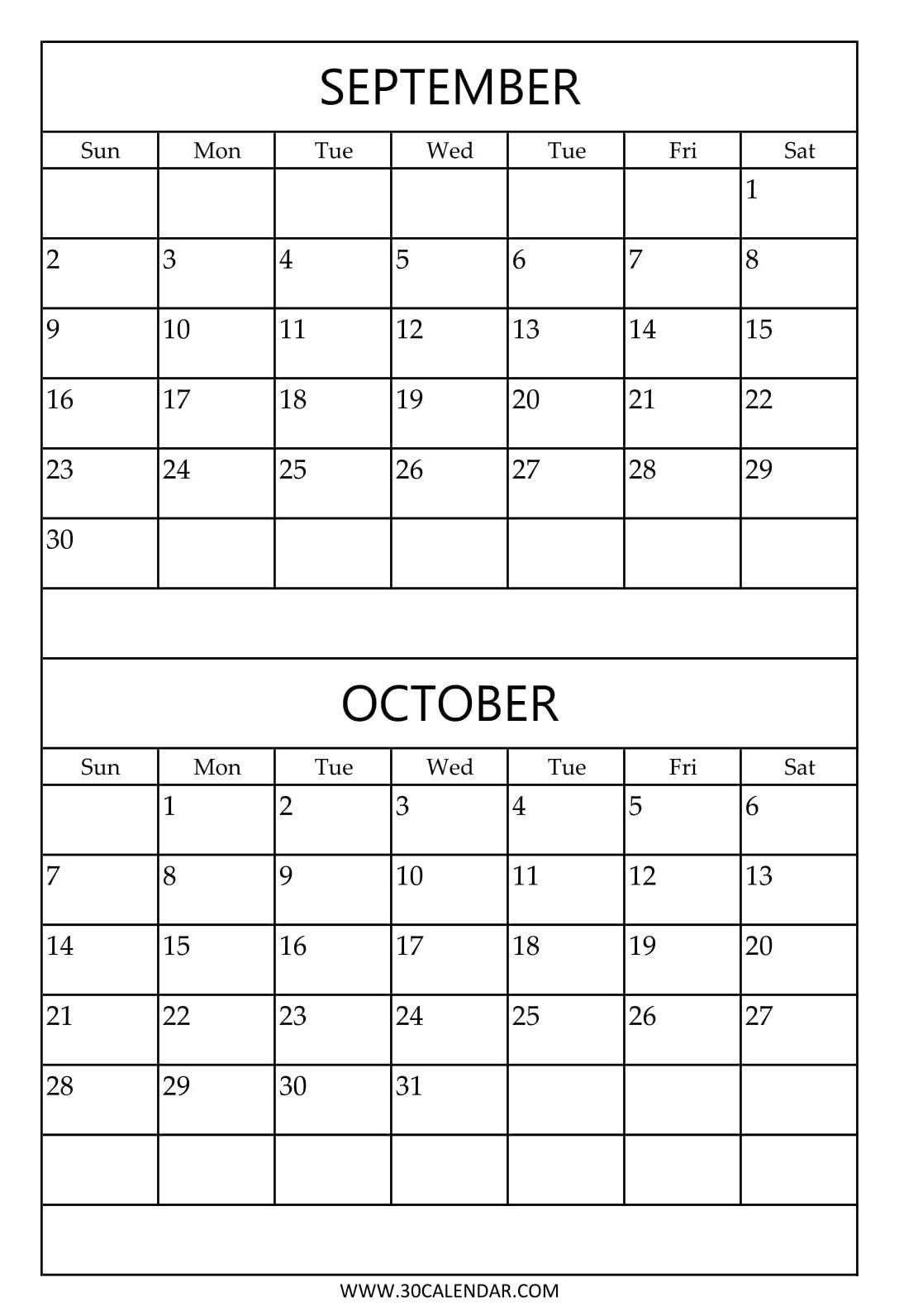 2 Month Calendar Free Print • Printable Blank Calendar Template