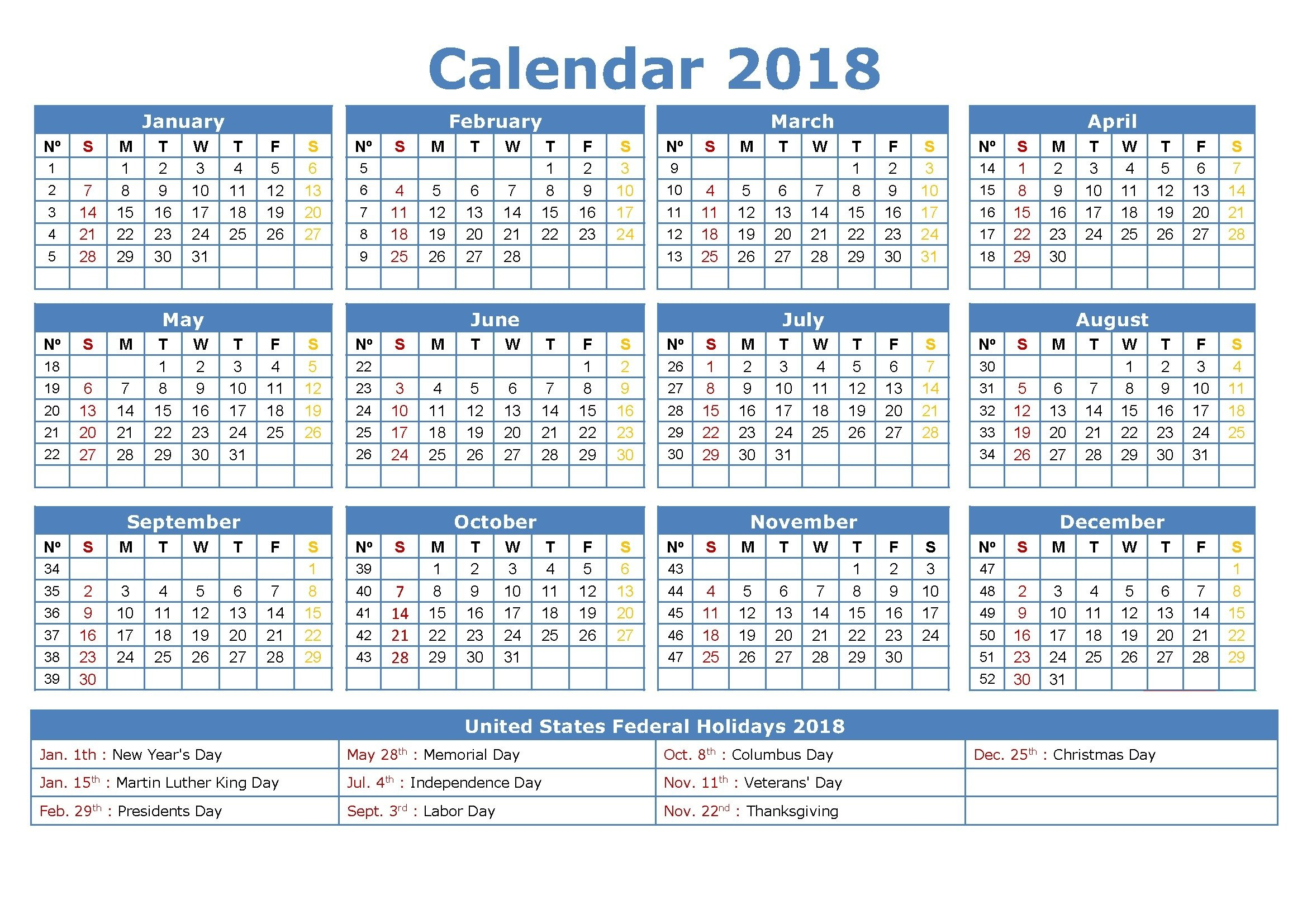 2017 Attendance Calendar To Download Or Print