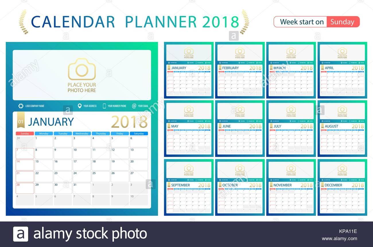 2018 Calendar Excel Weekly Calendar Free New Calendar
