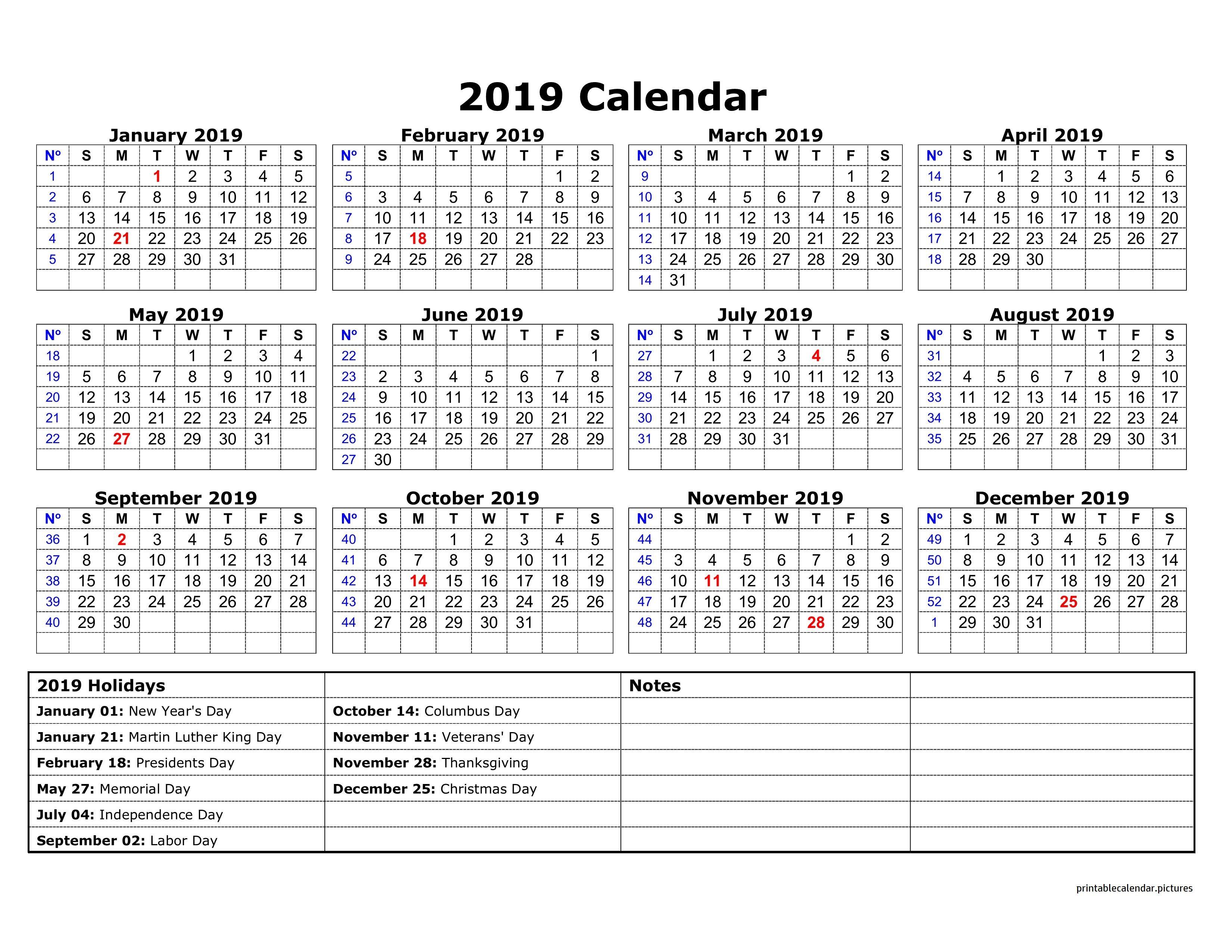 2019 Calendar Holidays Australia | 2019 Calendar Holidays