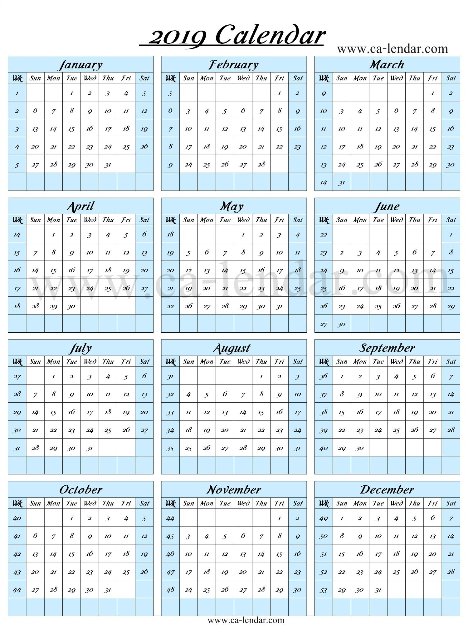 Week Planner Template Met Week Nummers | Example Calendar ...