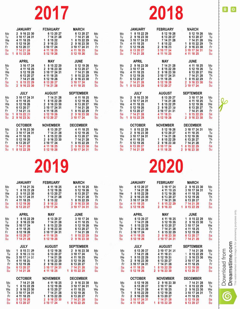 2020 Biweekly Payroll Calendar Template