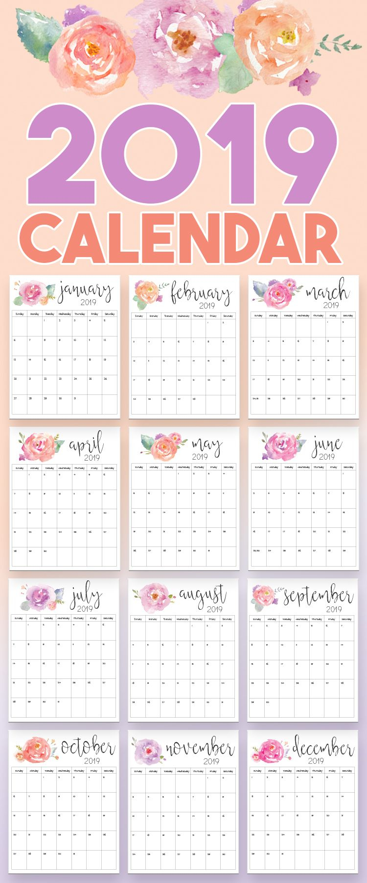 2020 Printable Calendars And Planners | Journal | Calendar