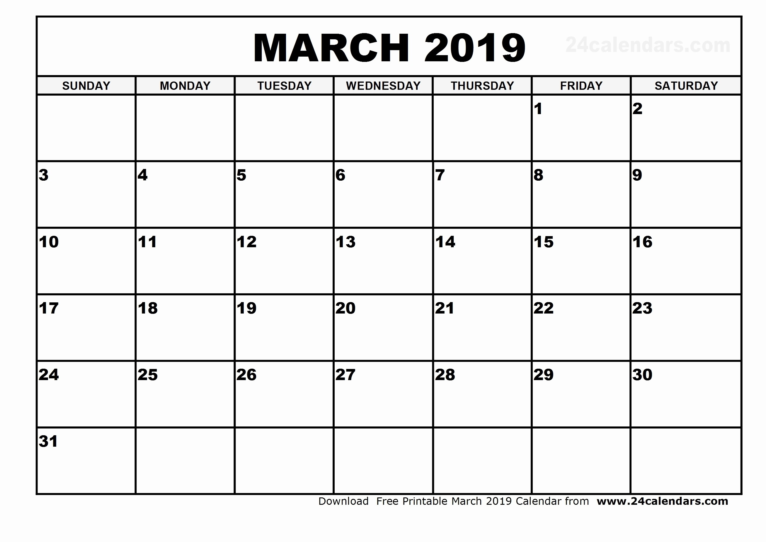 4 Month Blank Calendar Template | Ten Wall Calendar
