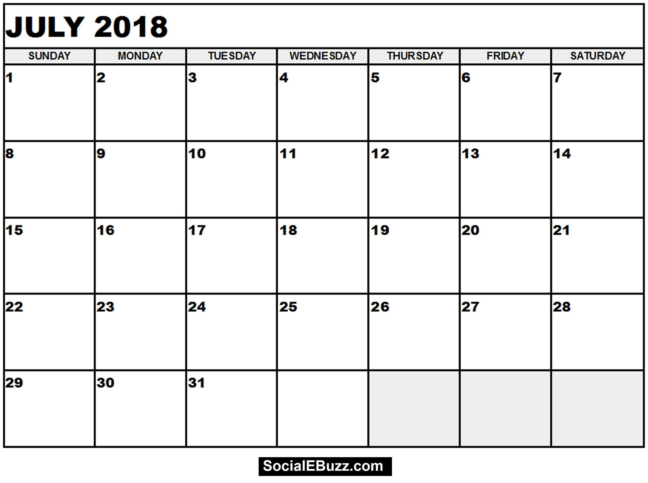 4×6 Blank Calendar Template Printable For No Cost