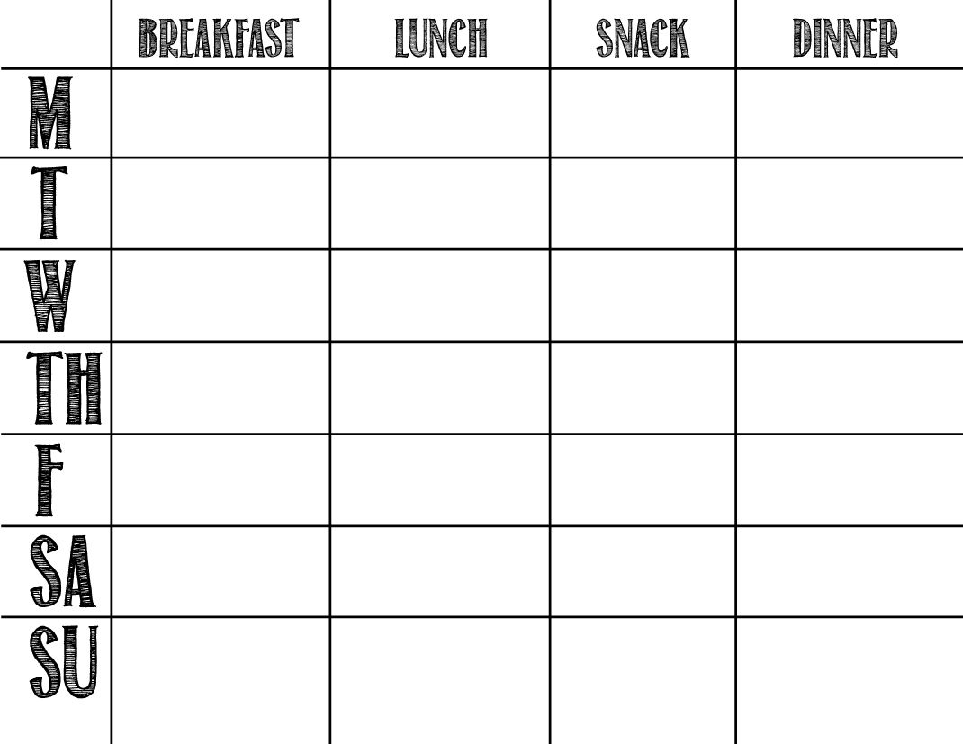 A Feteful Life: Menu Planning | Health: Body & Mind | Whole