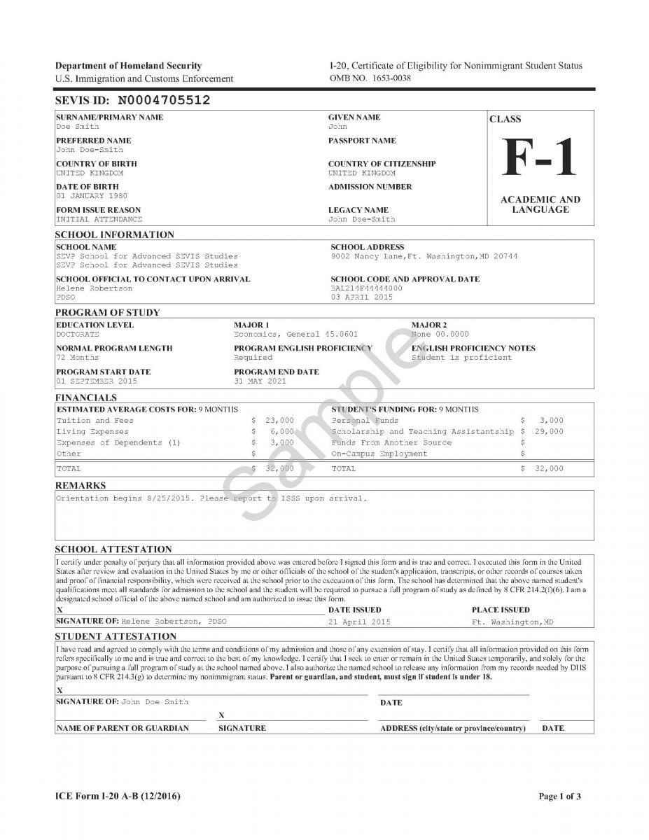 Additional Documentation Requirements | Uscis