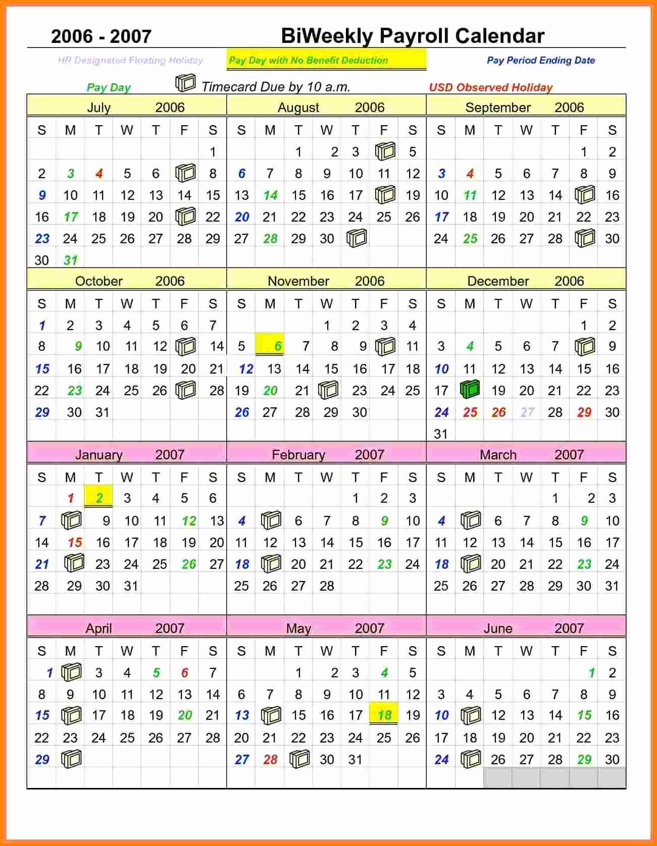 Adp 2019 Payroll Calendar Semi Monthly | Payroll Calendars