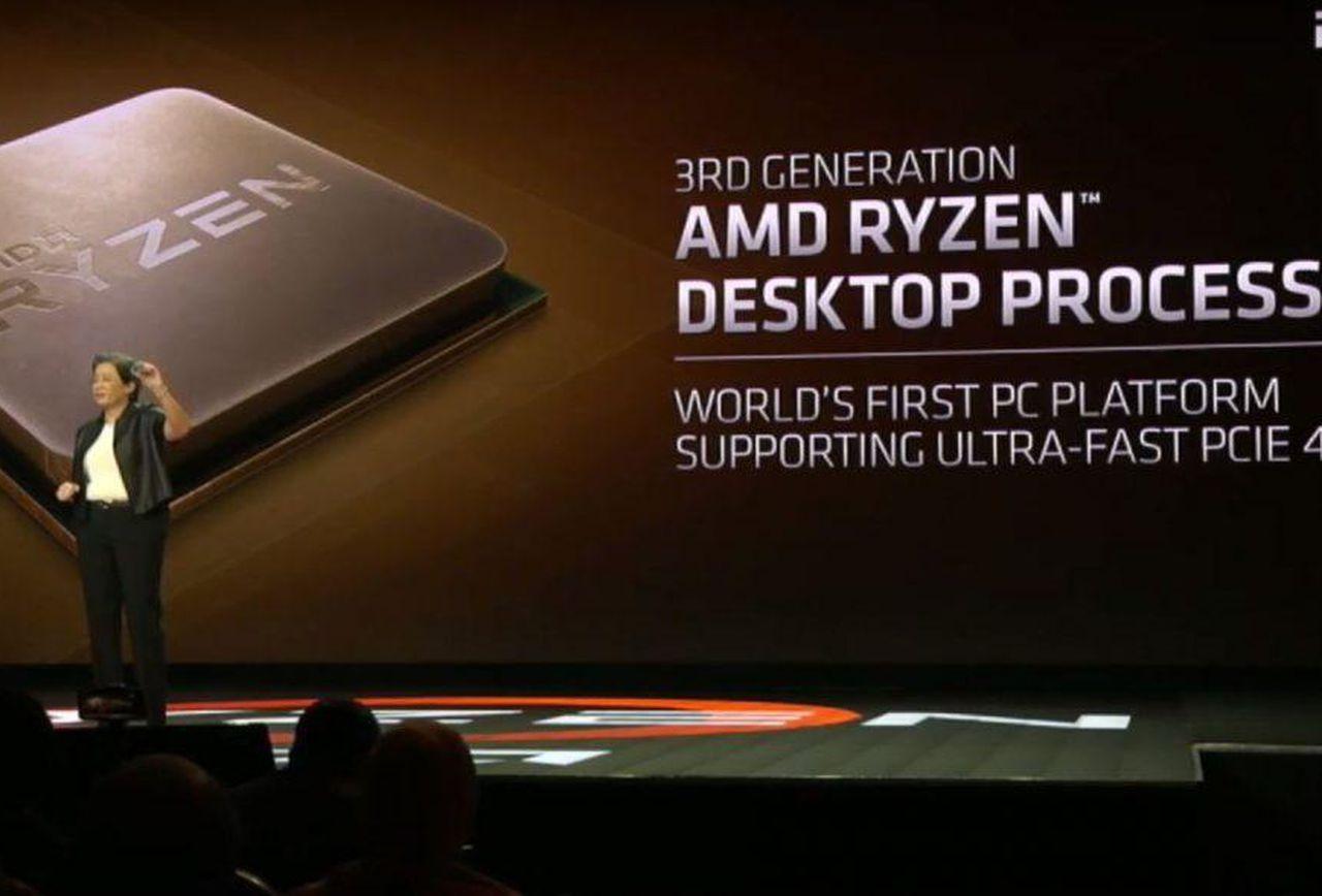 Amd Reveals Ryzen 3000 Series 7Nm Cpu Performance: Faster