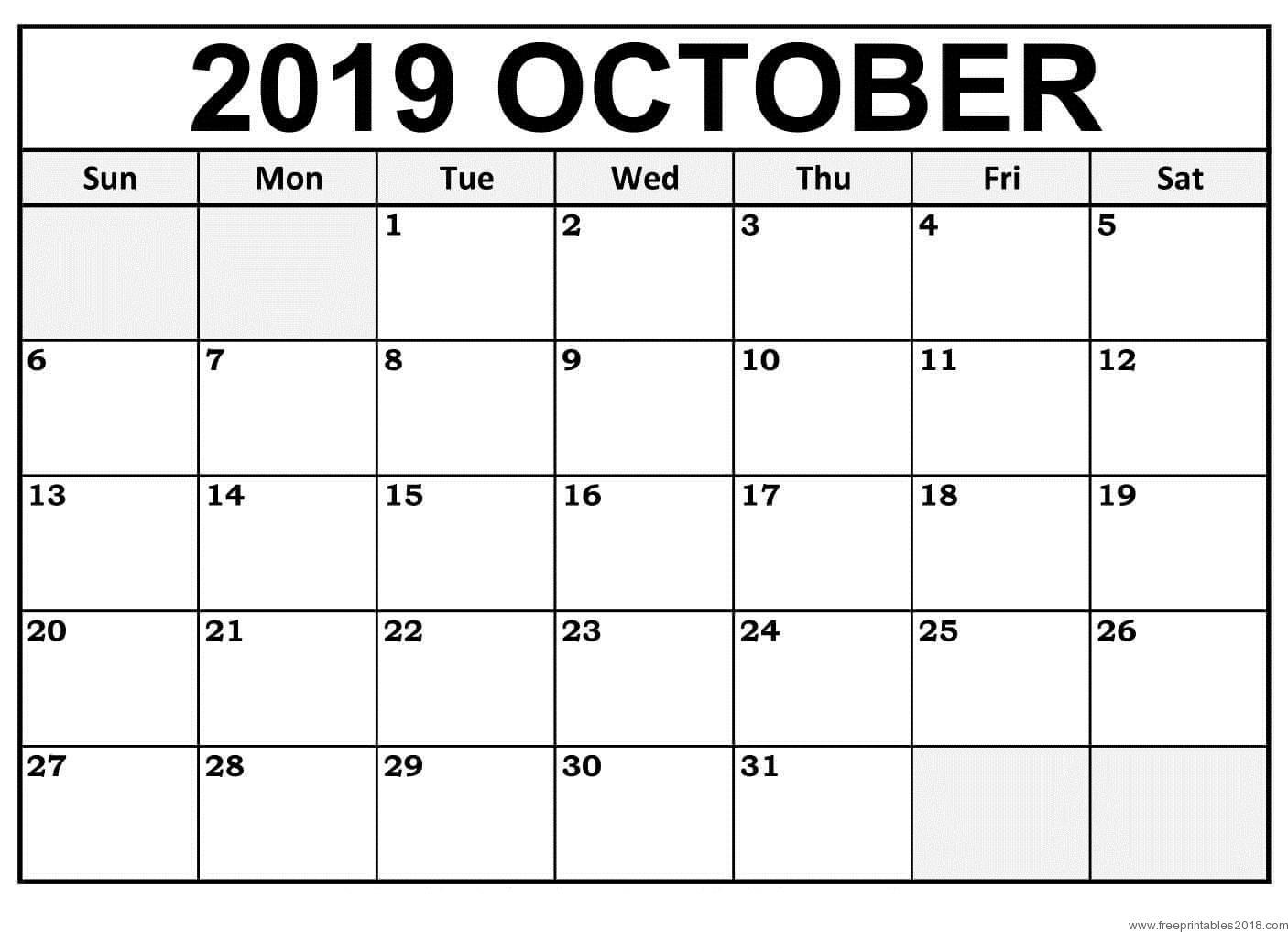 April To December Calendars Collection 2019 | Djellabar