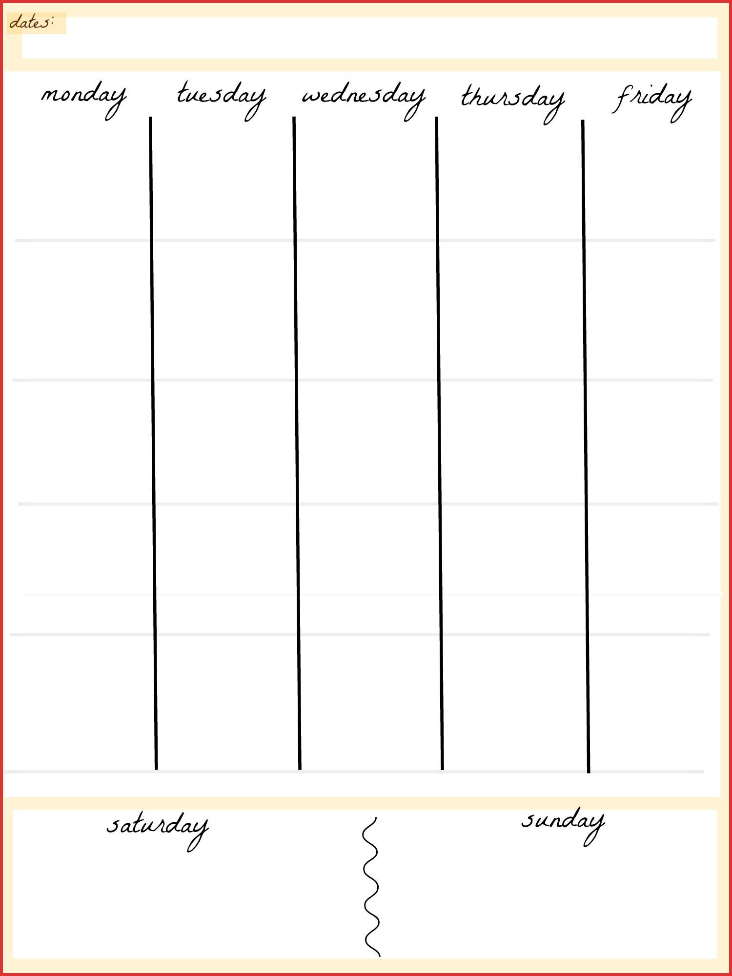 Best Of 5 Day Calendar 2016 | Job Latter