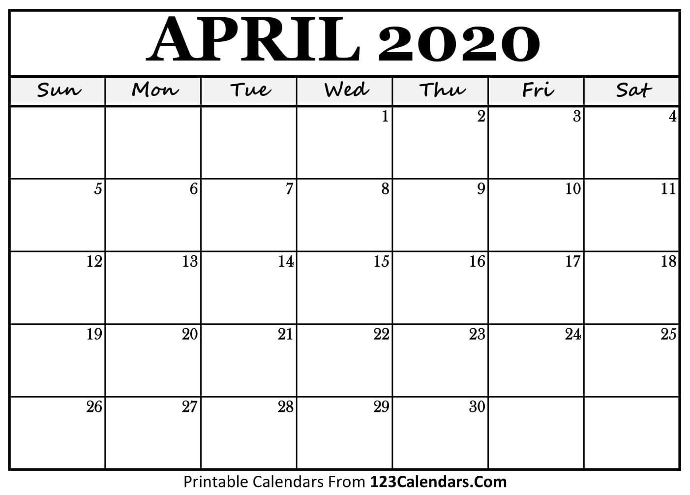 Best Templates: Print Feb 2020 Calendar
