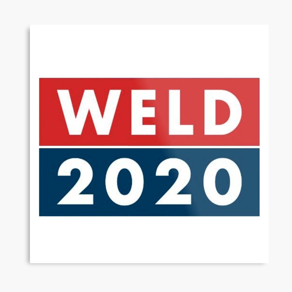 Bill Weld 2020   Metal Print