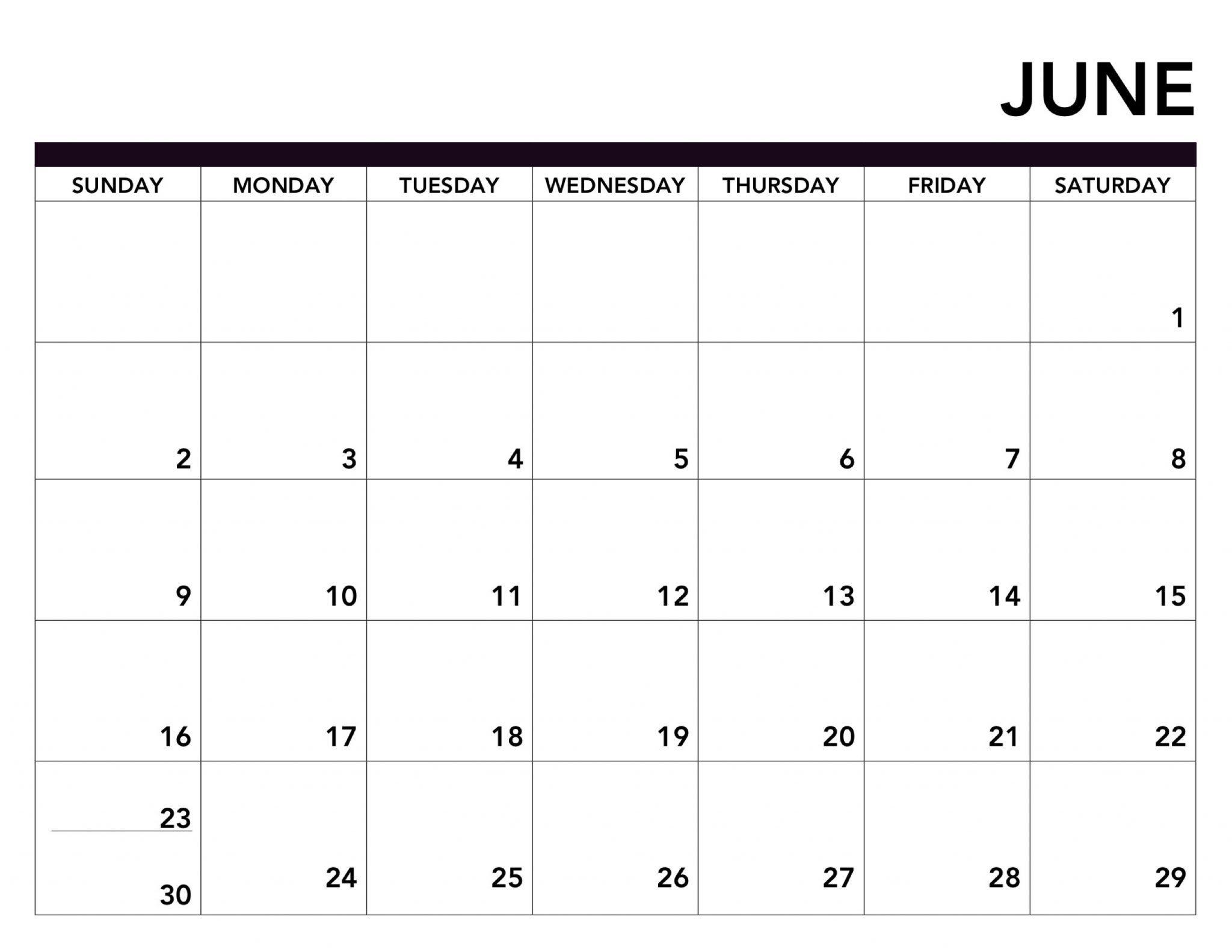 Blank Calendar August 2019 Printable | Calendar Template