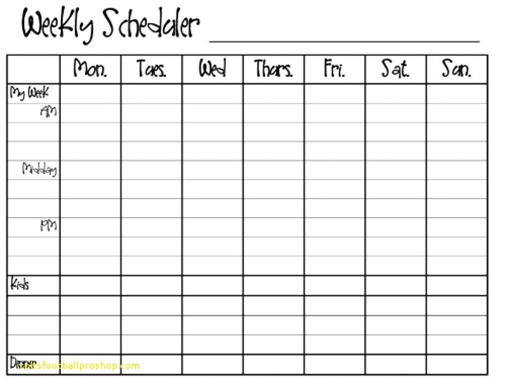 Blank Y Calendar Monday Through Friday Top Result Sunday