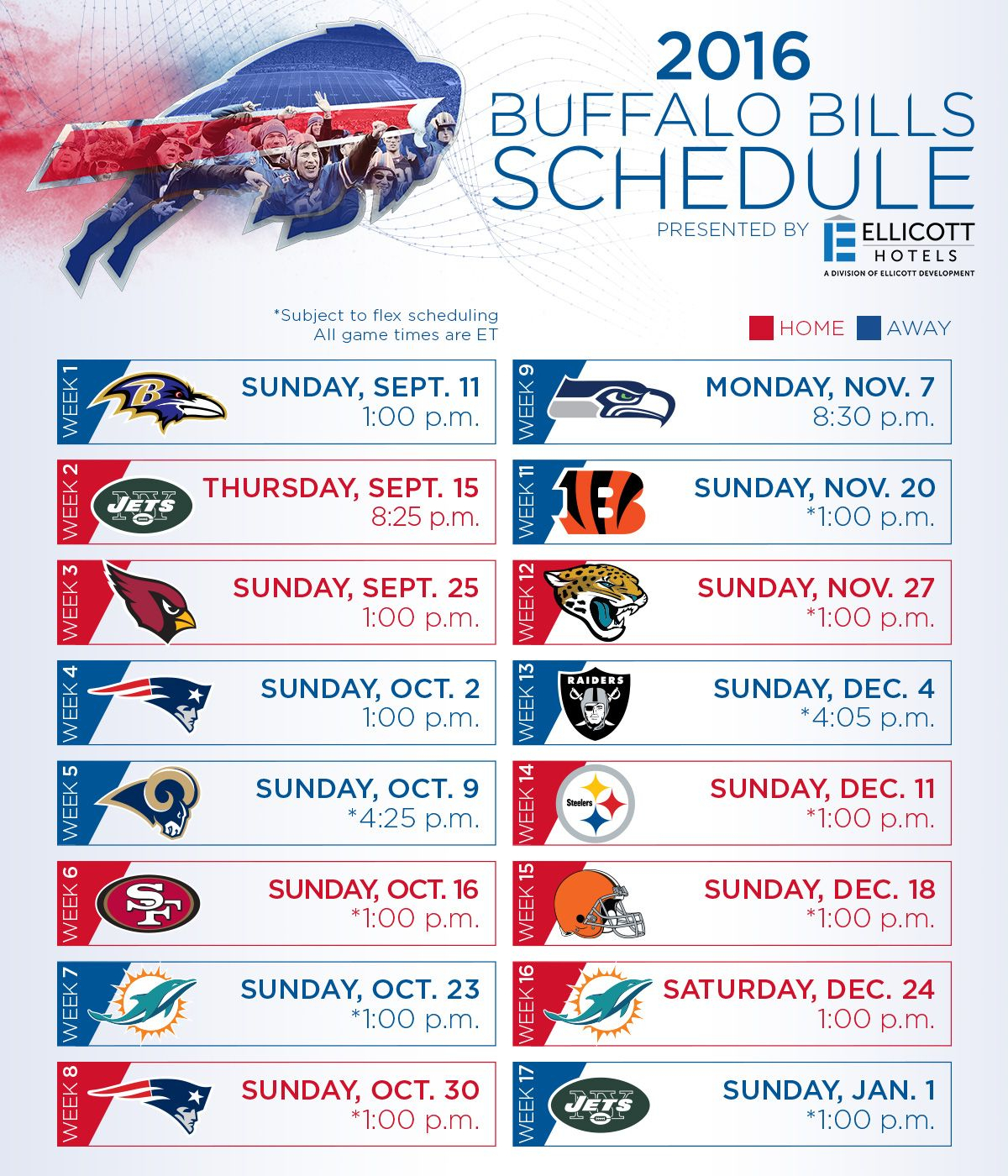 Buffalo Bills Football Is Coming Soon! Check Out The 2016