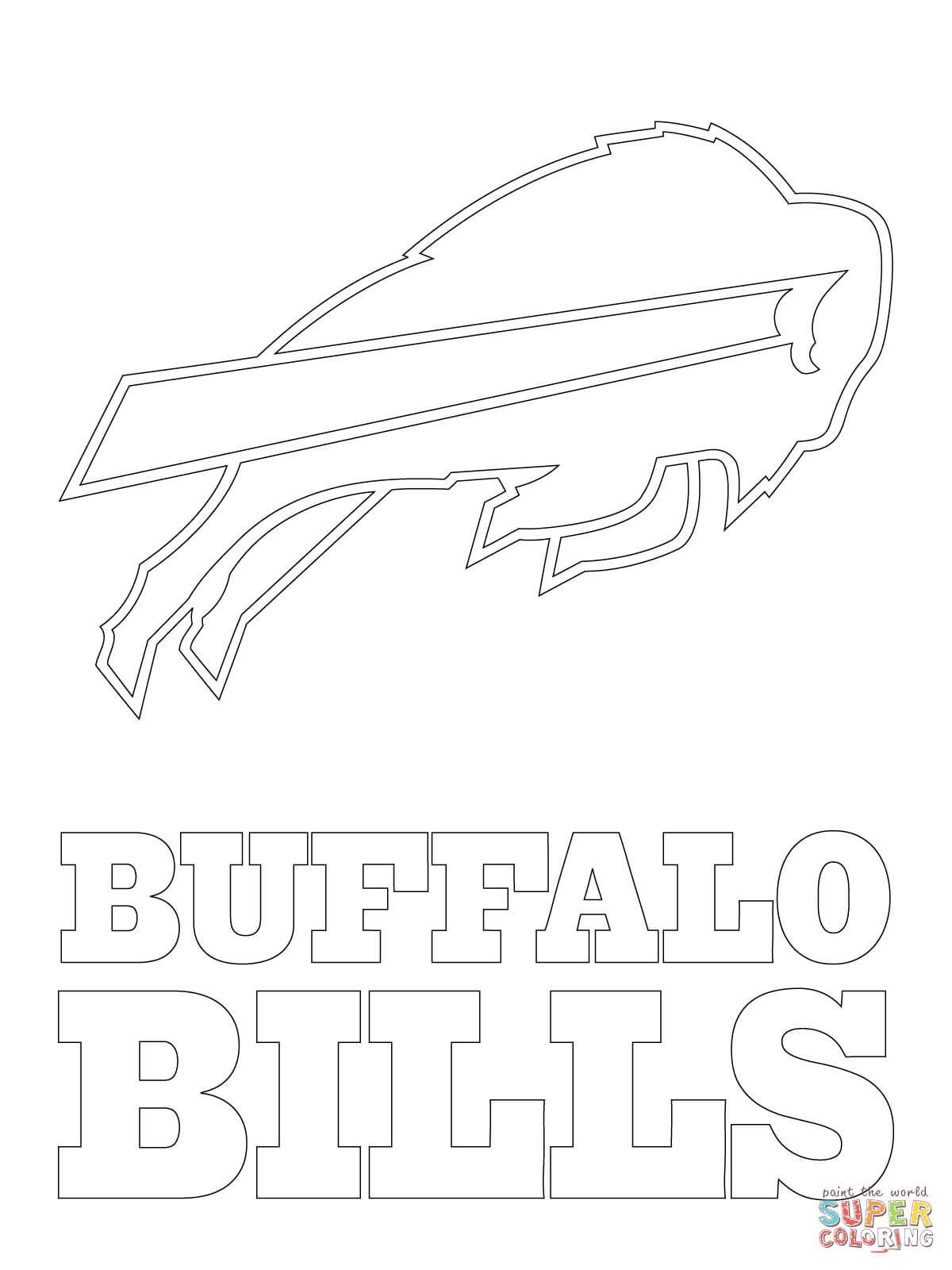 Buffalo Bills Logo | Super Coloring | Birthday Celebrations