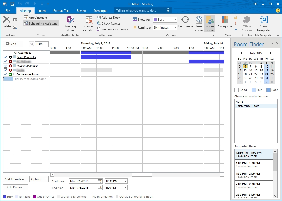 Calendar Printing Assistant For Office 365 • Printable Blank