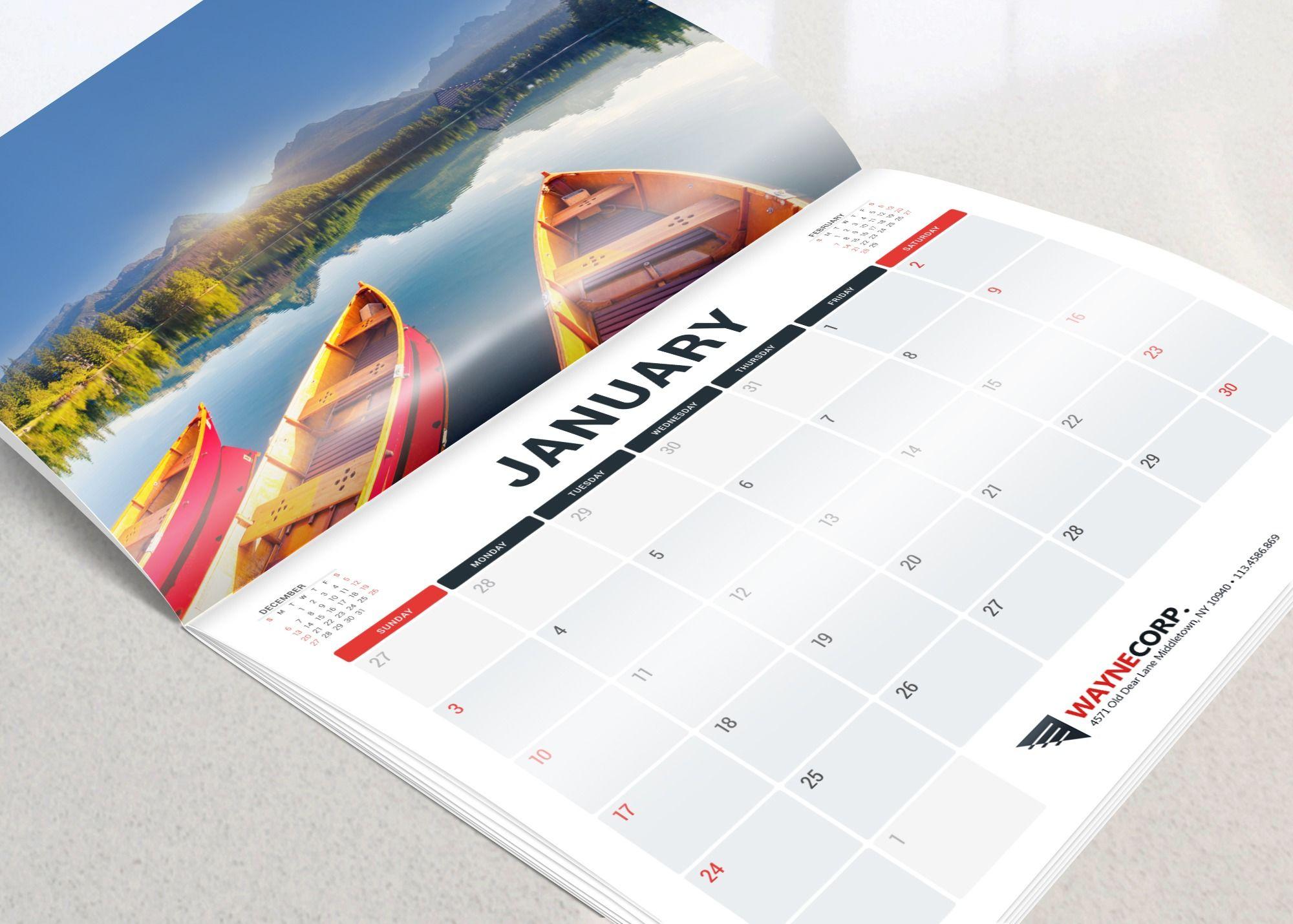 Calendar Printing | Sameday Printing, Sameday Flyers