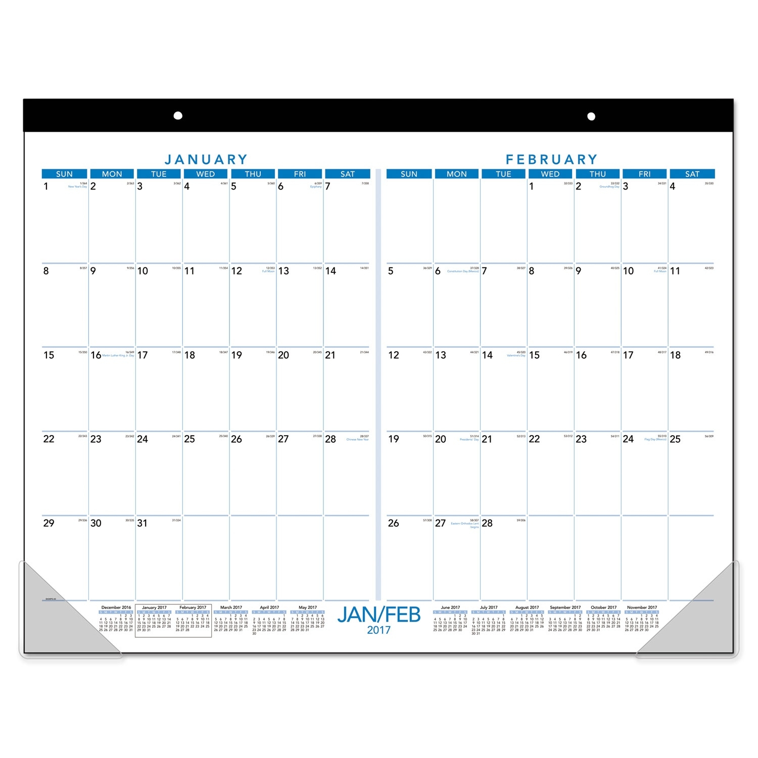 Calendar Template Two Months Per Page • Printable Blank