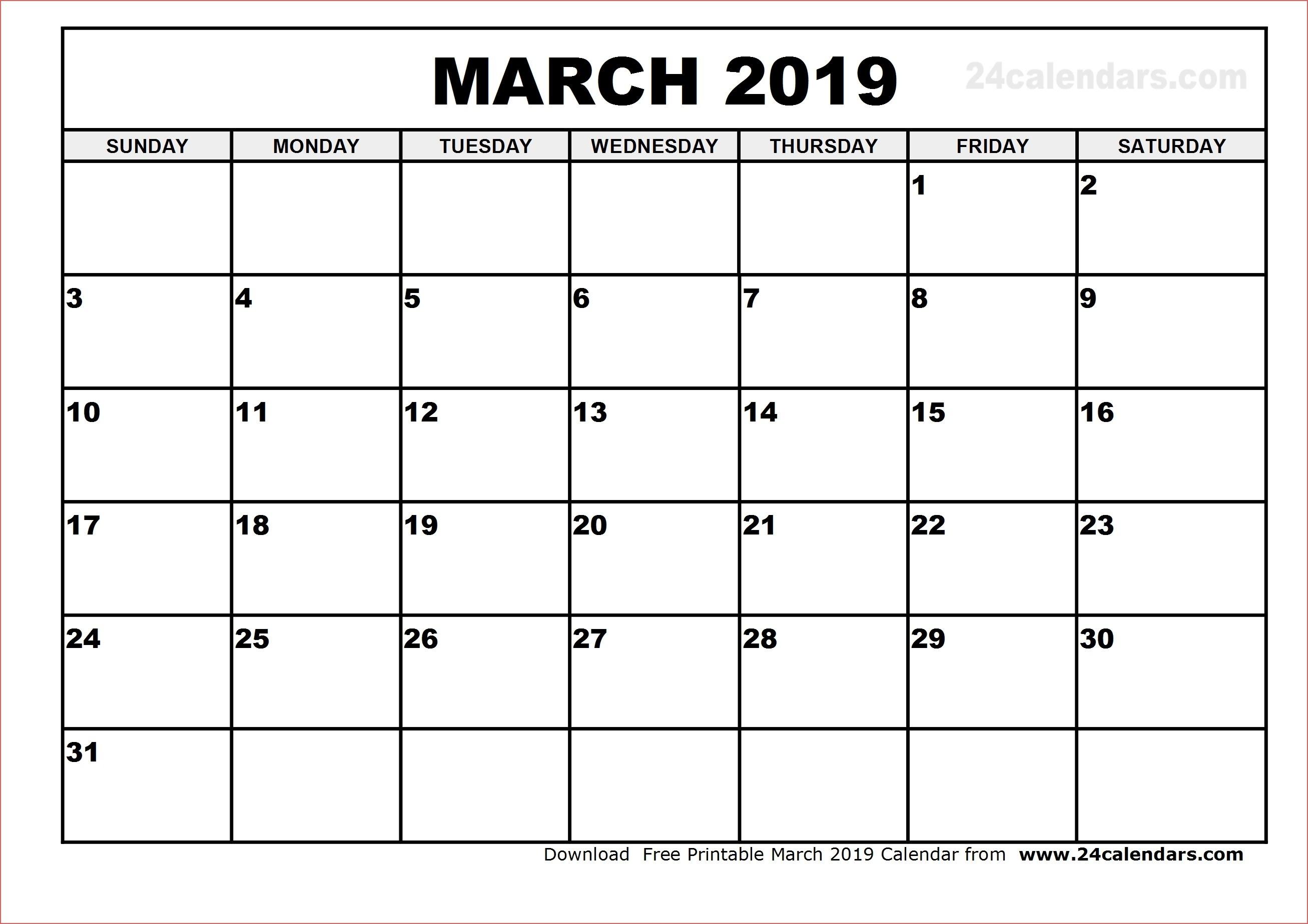 Calendar Template Vertex | One Page Calendar Printable