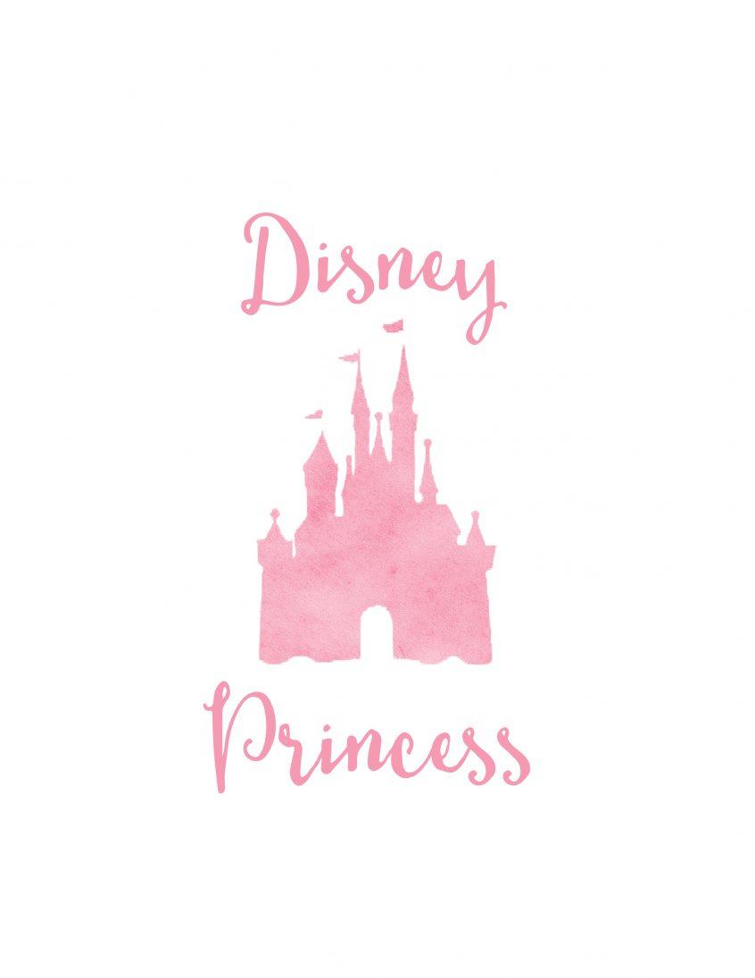 Coloring: Free Disney World Autograph Print Princess Wit