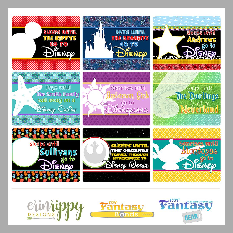 Countdown Calendar – Magnetic Dry Erase | Disney Countdown