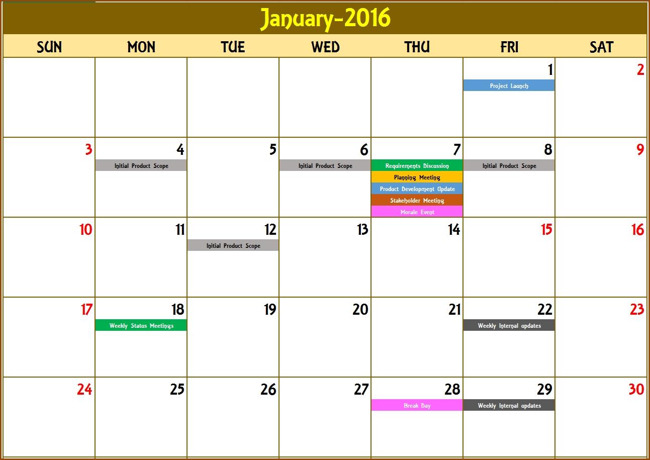 Create A Countdown Calendar In Excel • Printable Blank