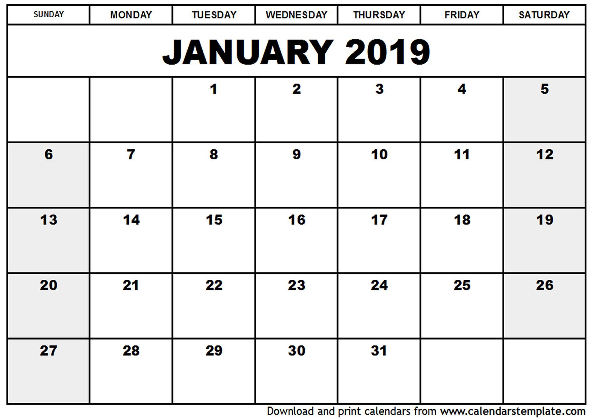 التقويم 2019 (7) | تقويم | June 2019 Calendar, January