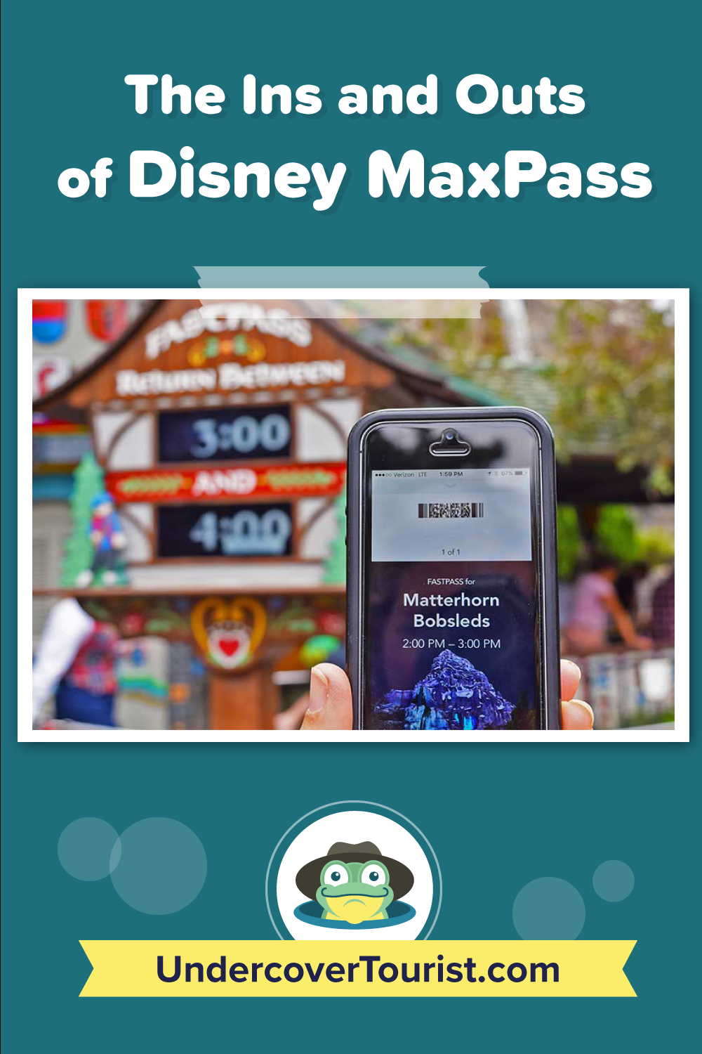 Disney Maxpass — What You Need To Know Before You Go!