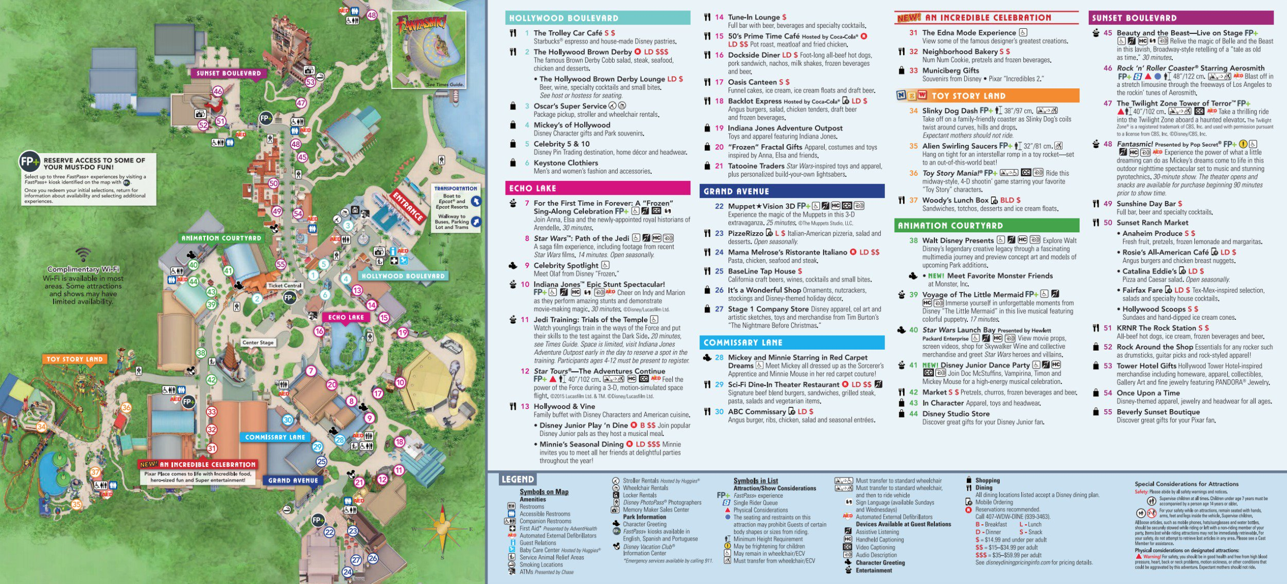 Disney World Map [Maps Of The Resorts, Theme Parks, Water