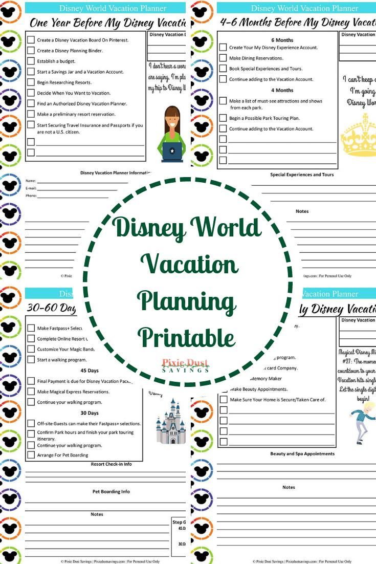 Disney World Vacation Planning Guide + Free Disney Planning