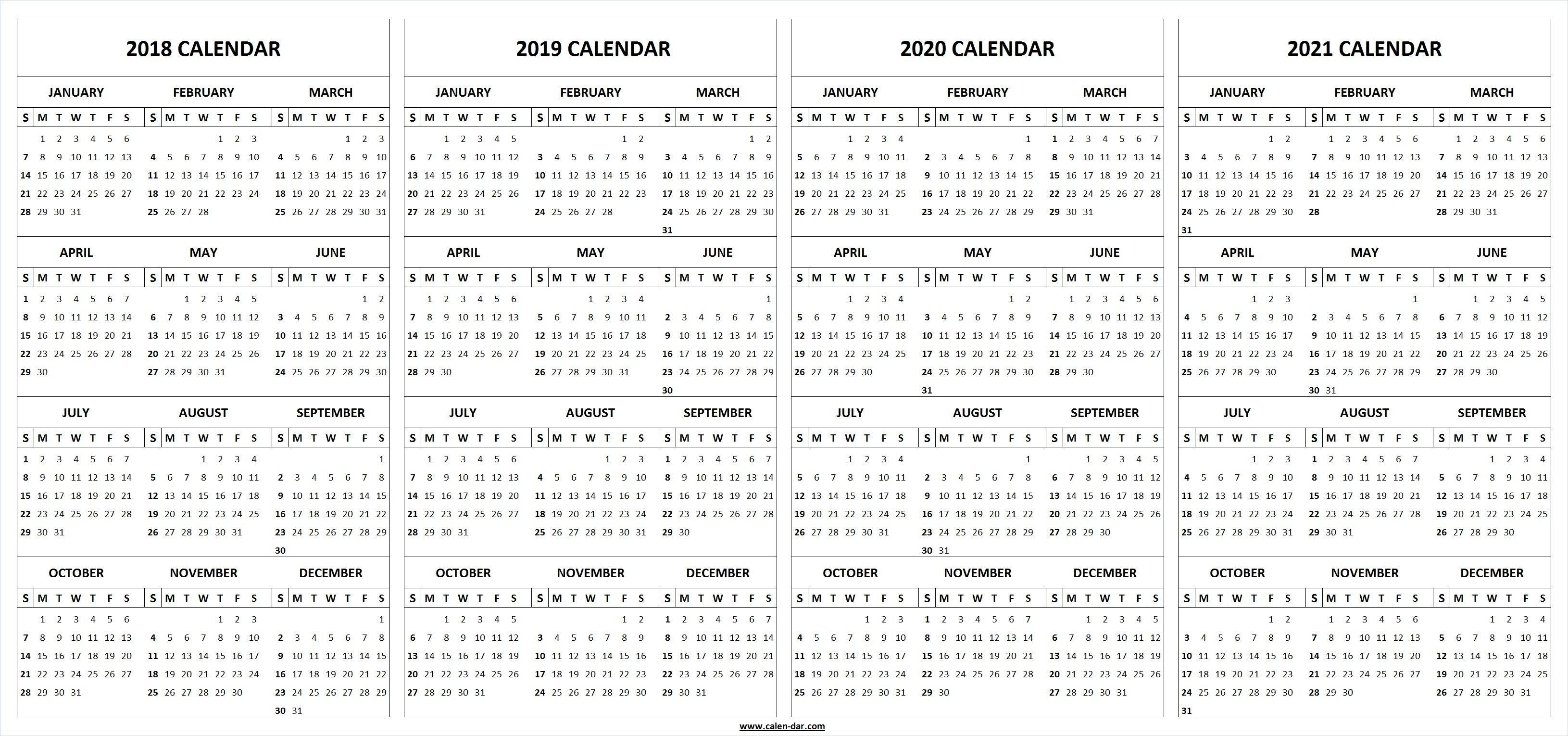 Exemplary 5 Year Calendar Printable : Mini Calendar Template