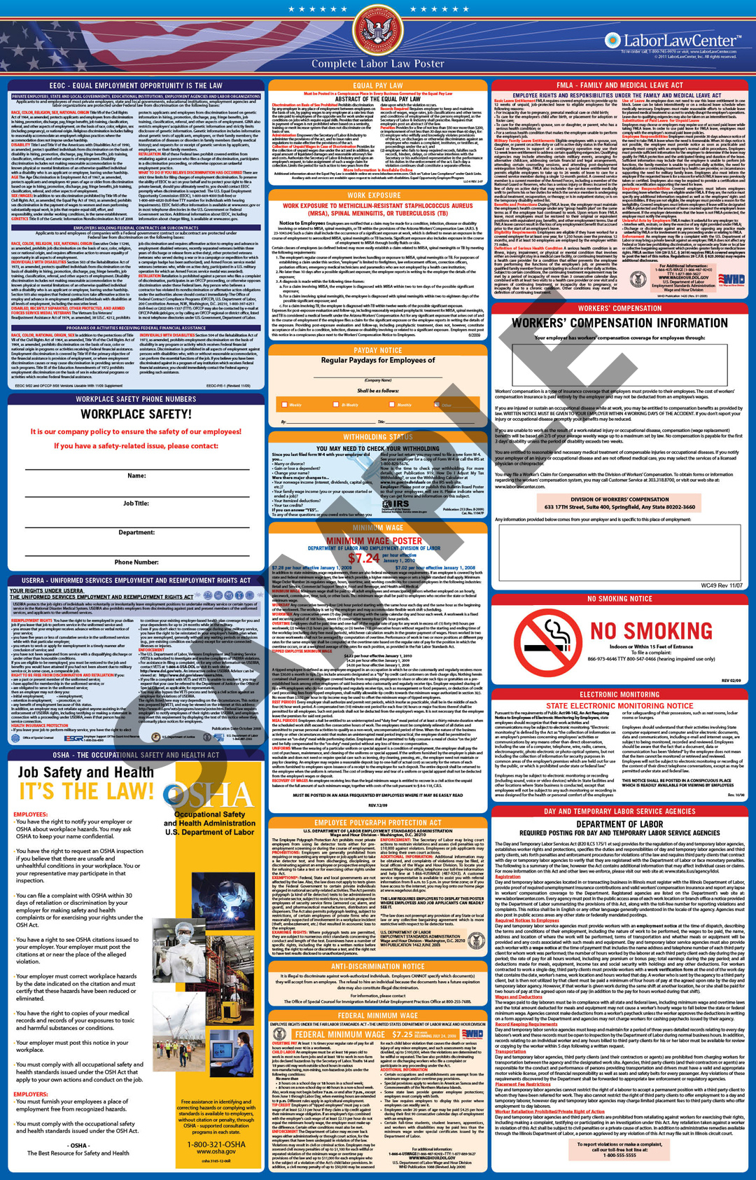 Faqs On Labor Law Posters | Laborlawcenter