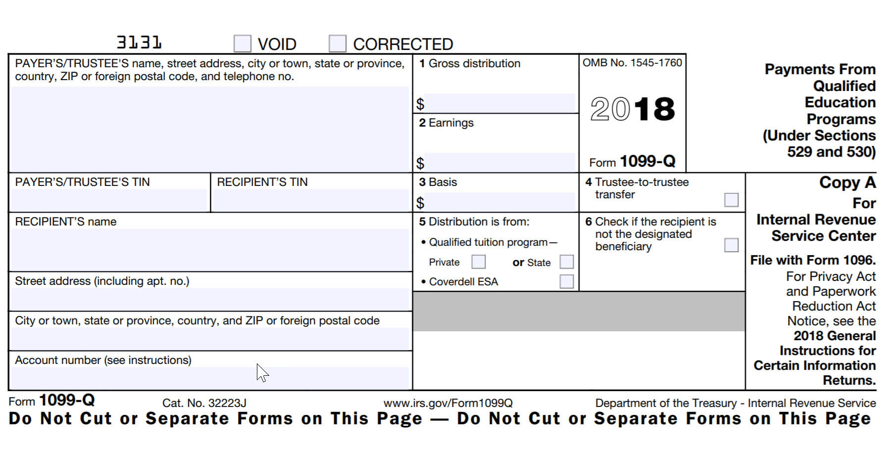 Free 1099 Tax Forms Printable Form 2017 2018 Taform