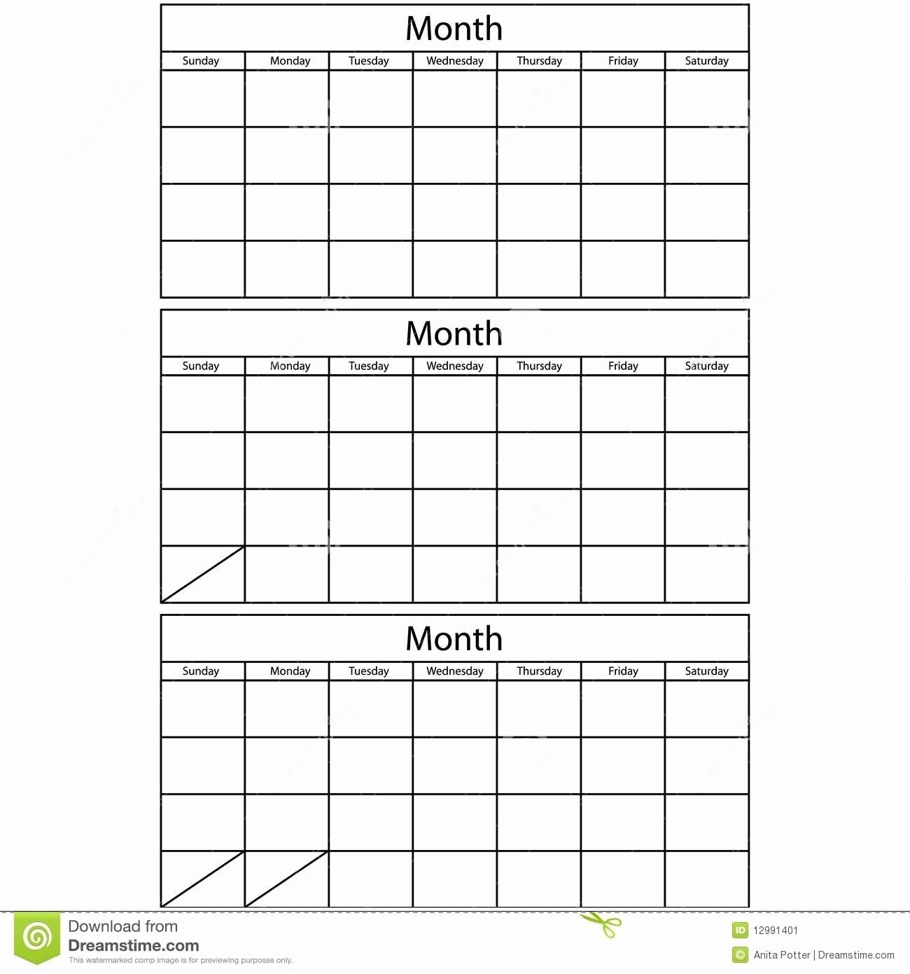 Free 3 Month Calendar Templates - Calendar Inspiration Design