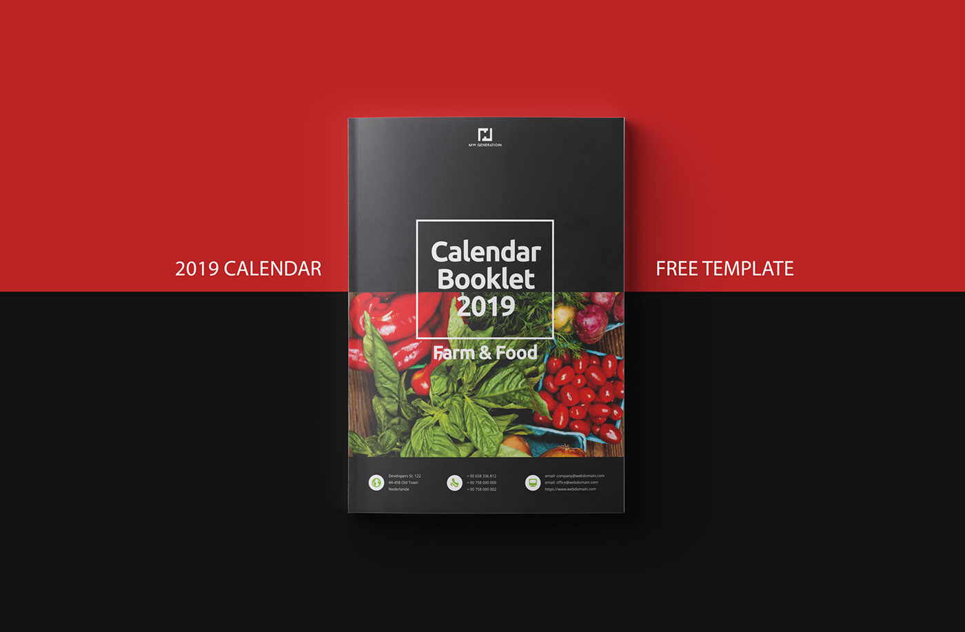 Free Calendar 2019 Indesign Template On Behance