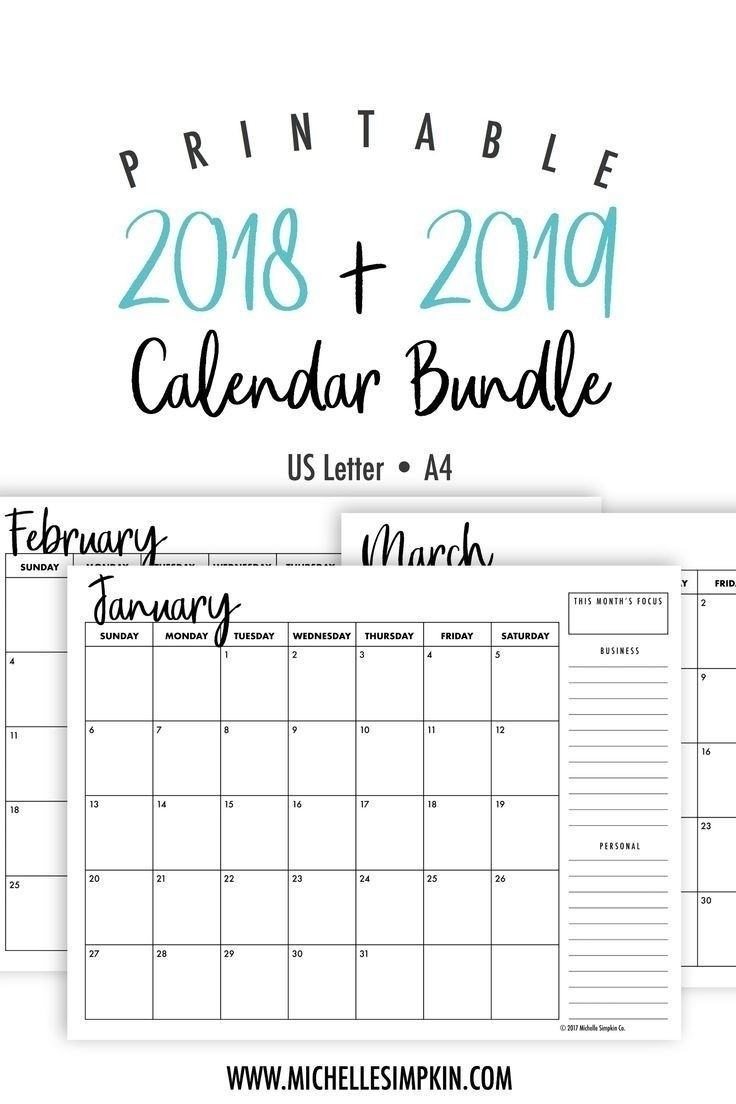 Free Printable 4X6 Monthly Calendar • Printable Blank