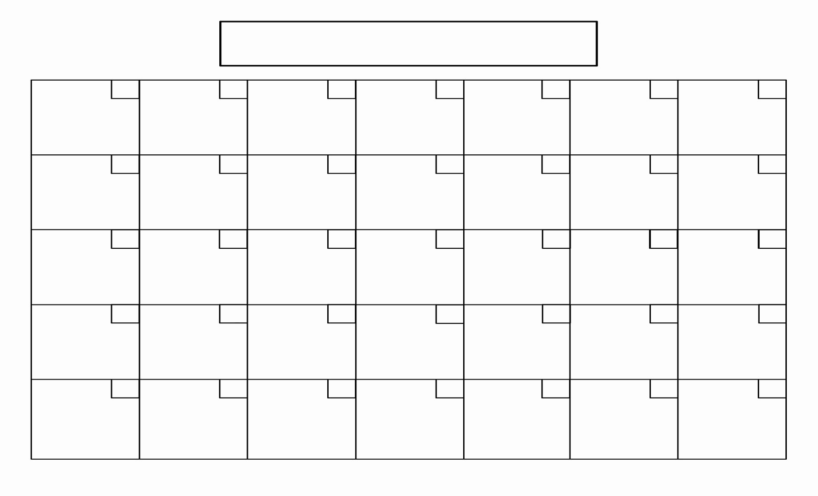 Free Printable Calendar Templates Interesting In Fill In