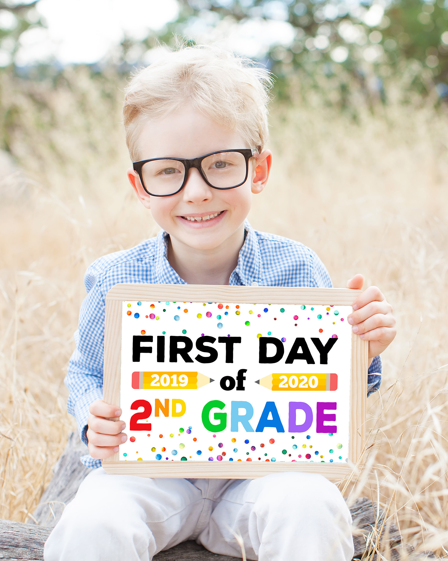 Free Printable First Day Of School Signs - Happiness Is Homemade