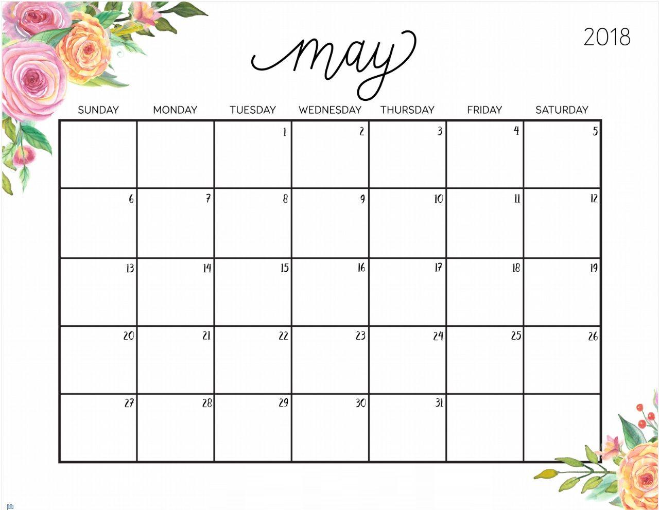 Free Printable May 2018 Desk Calendar | Calendar 2018 | July